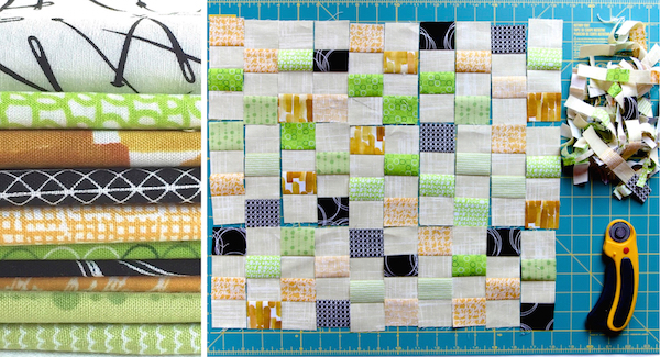 kitchenquiltfabricscutting