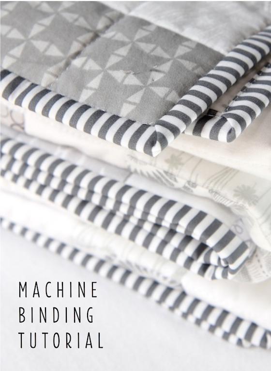 Machine Binding Tutorial Beech Tree Lane Handmade Stunning How To Sew Binding On A Quilt With A Machine