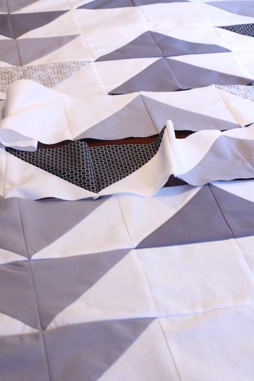 Grey Goose Quilt Panel