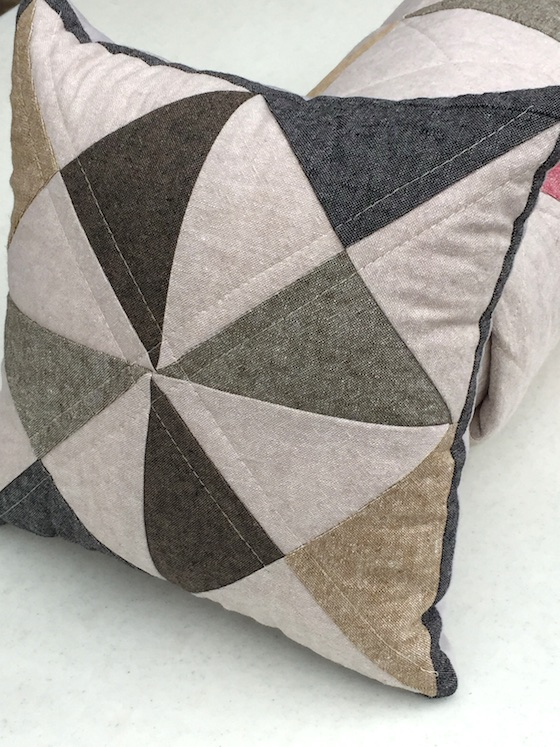 essex hourglass pillow
