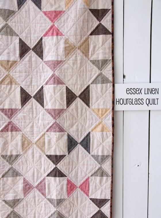 Essex Linen Hourglass Quilt