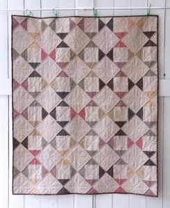 Essex Linen Hourglass Quilt