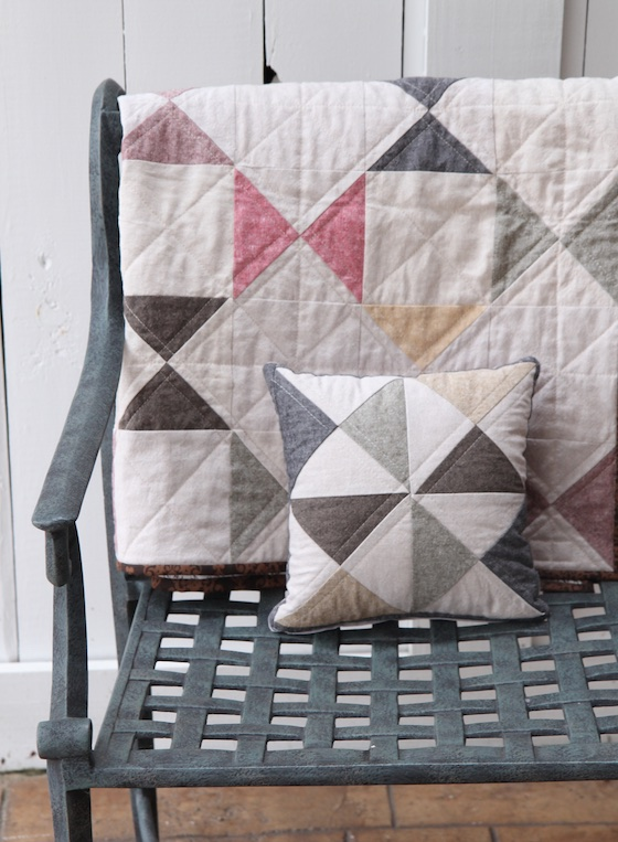 essex quilt and pillow