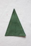 garland triangle uncut