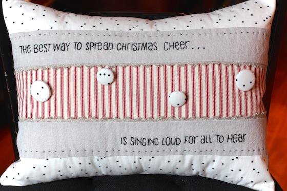 nana christmas pillow