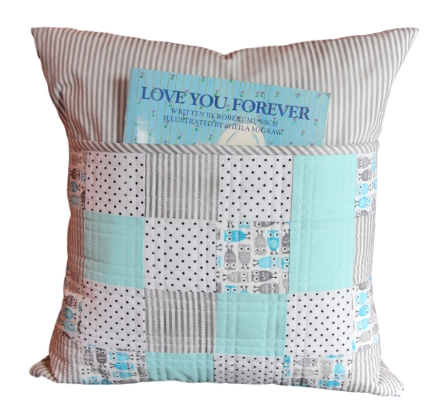 Little Owl Pocket Pillow
