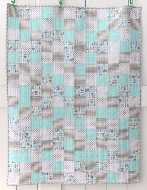 Little Owl Quilt Front