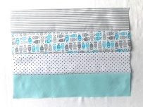 Little Owl sewn strips