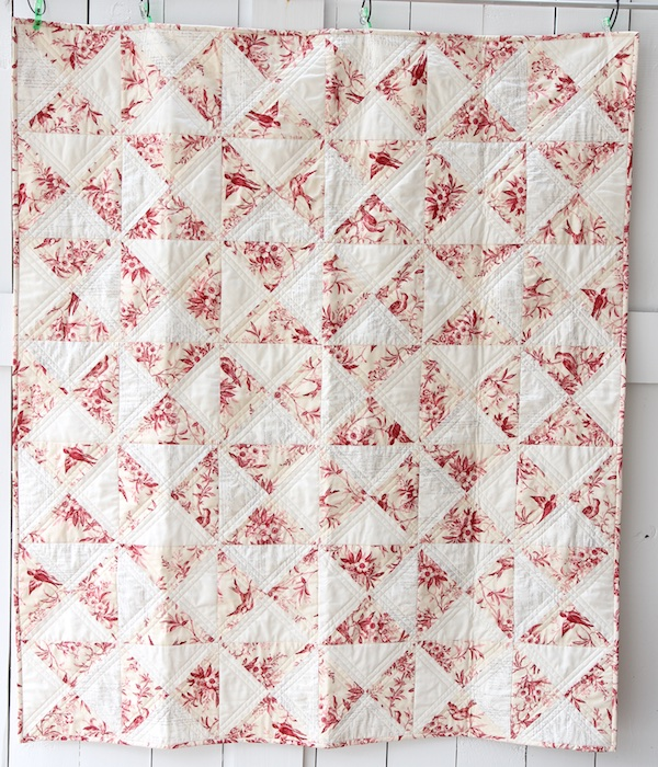 English China Quilt Front