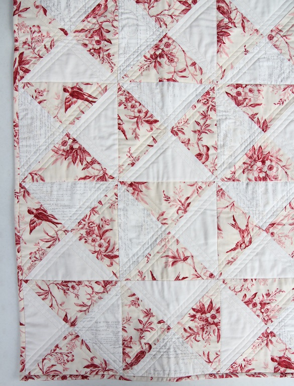 English China Quilt Overhead