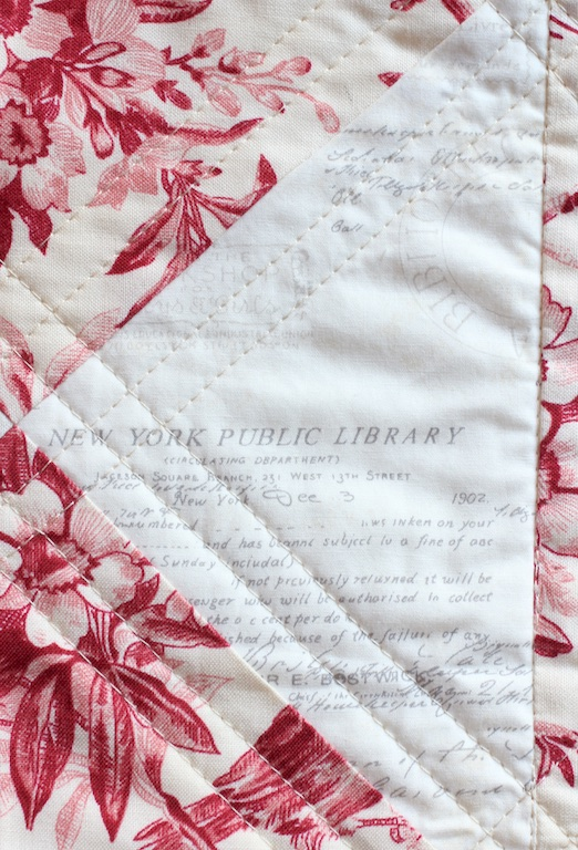 English China Quilt text detail