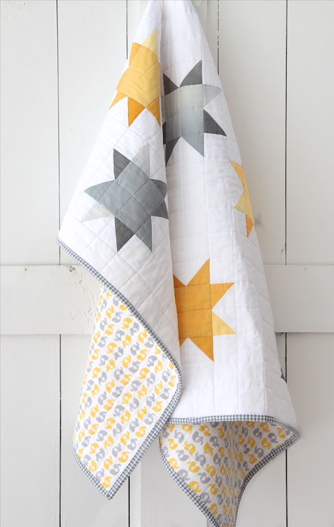 Ombre Sunshine Quilt Hanging