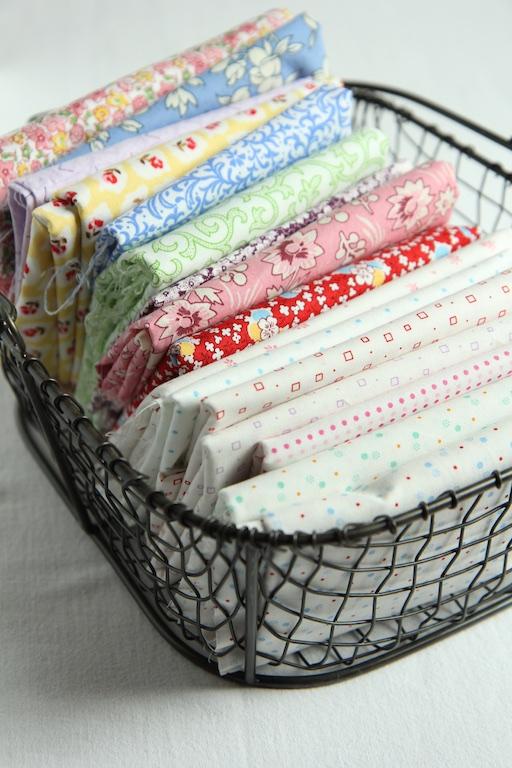 Scrap Quilt Fabric Pull