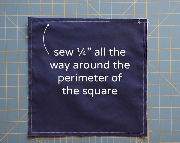 HST II sewing perimeter