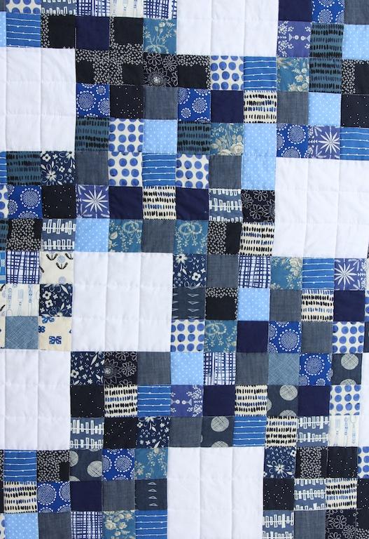 Nine Patch Blues detail