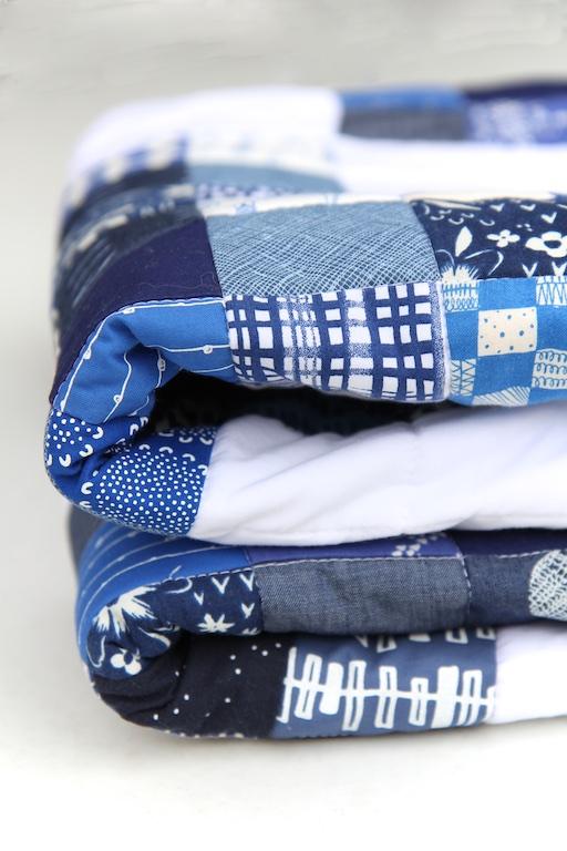 Nine Patch Blues folded