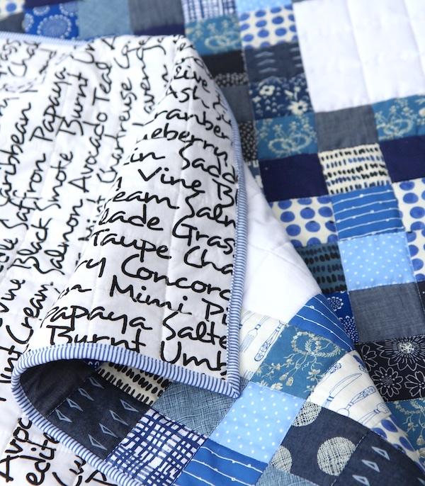 Nine Patch Blues folds
