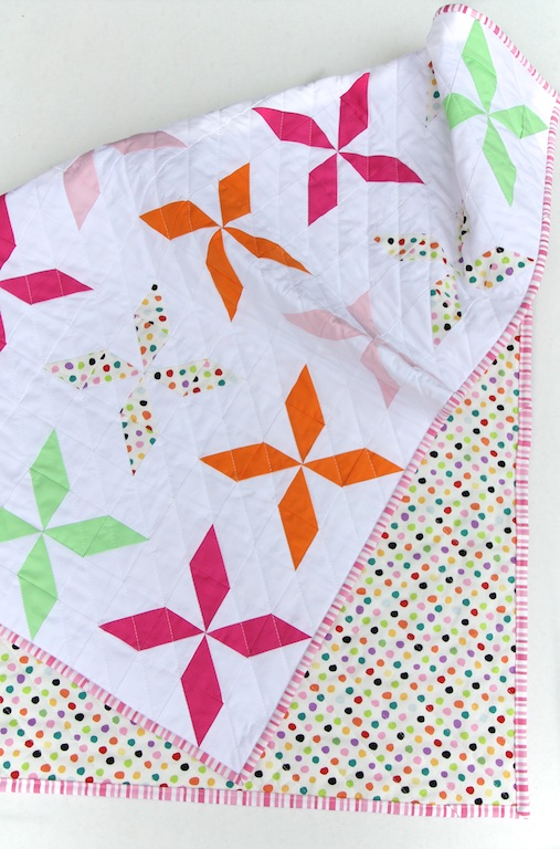 Pinwheel Quilt front & back