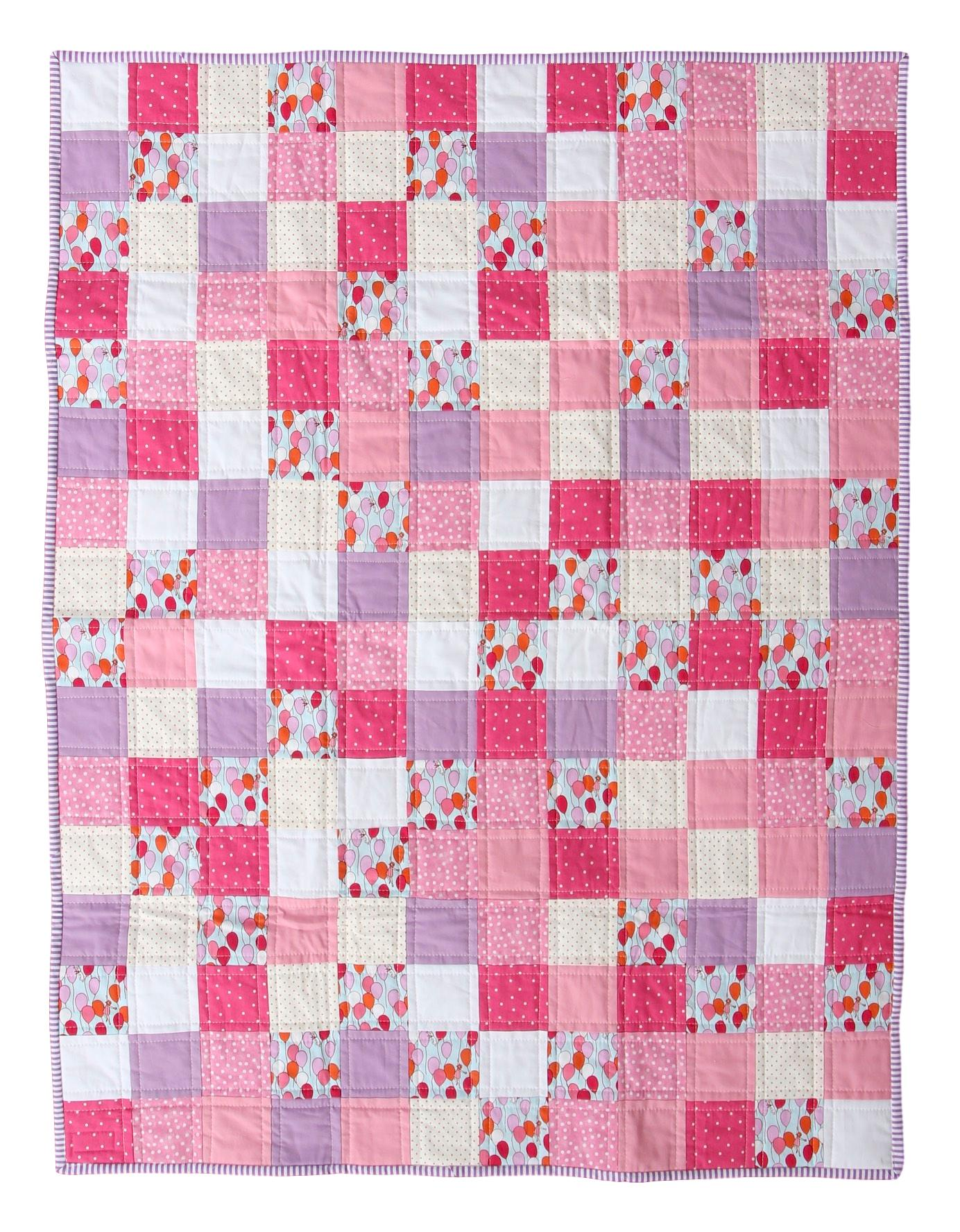 Children at Play Quilt Front