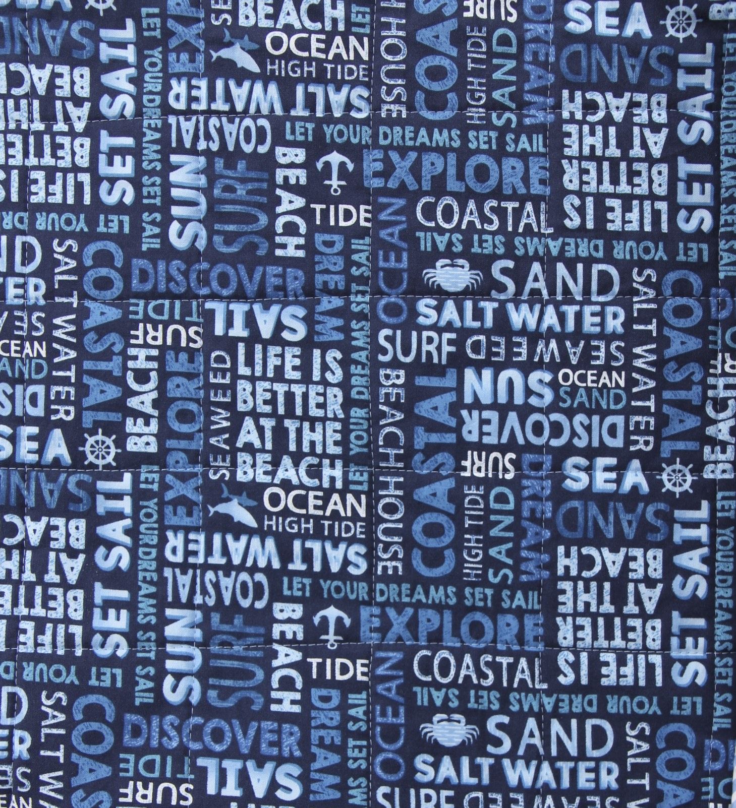 Beach Quilt Backing Fabric