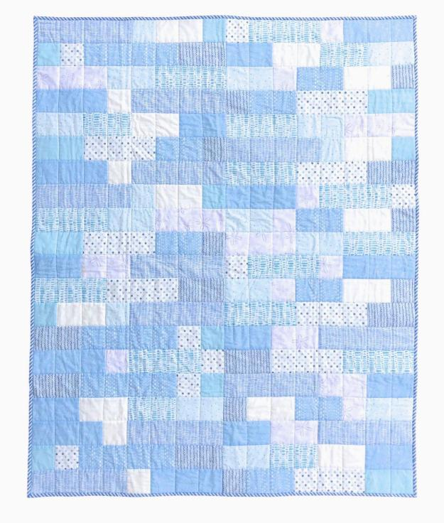 Shifting Strips Beach Quilt by Beech Tree Lane Handmade