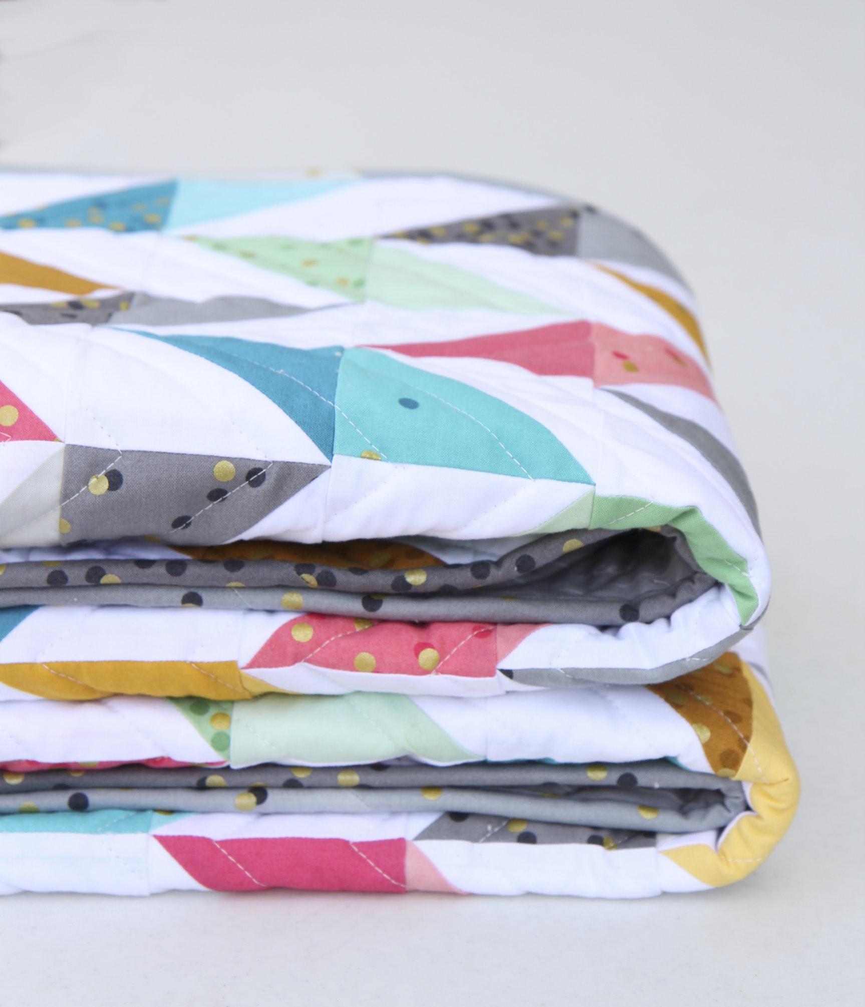 Herringbone Quilt Folded II