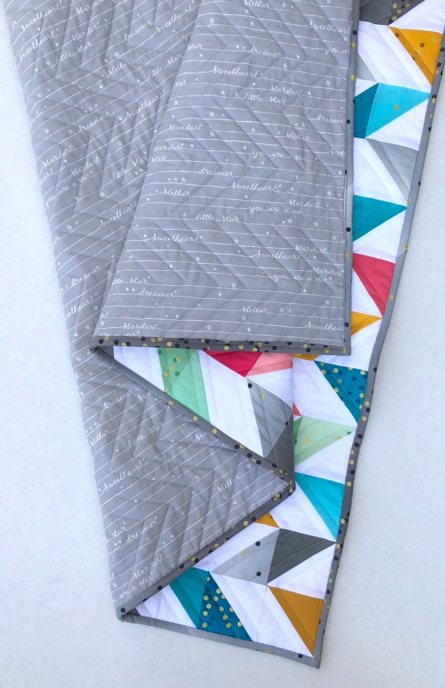 Herringbone Quilt folds