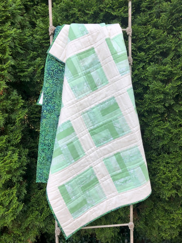 Split Rail Quilt Ladder