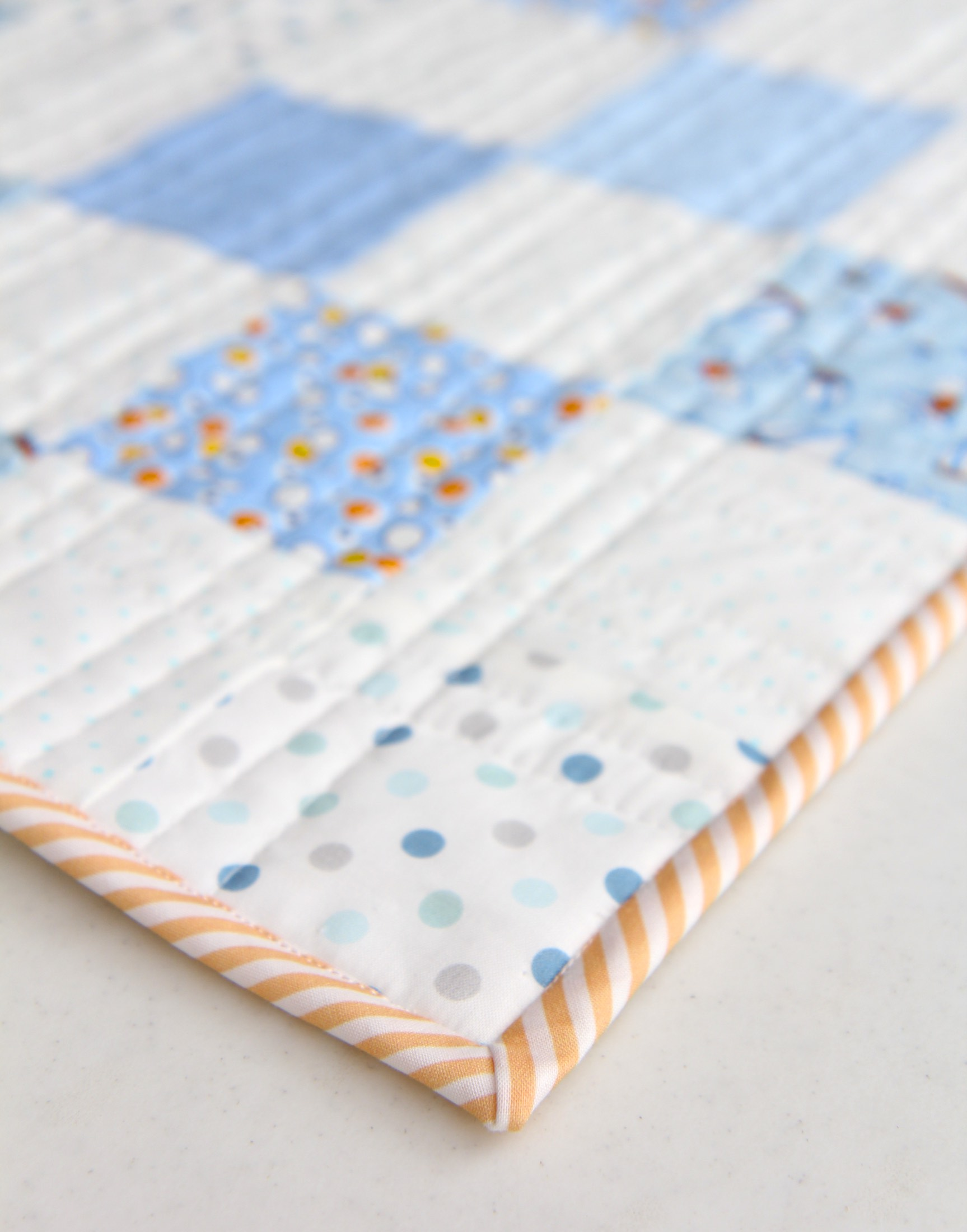 Storybook Vacation Quilt Binding
