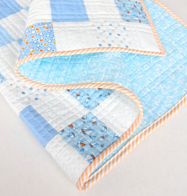 Storybook Vacation Quilt Folds