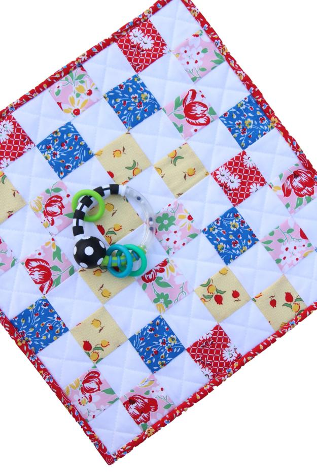 Sugar Sack Blankie With Toy