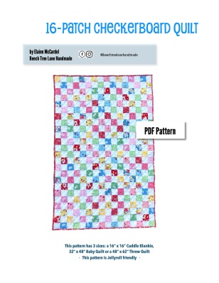 16-Patch Quilt PDF Cover